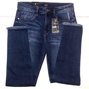 Fringe Jeans 8th of LA Skinny Jeans